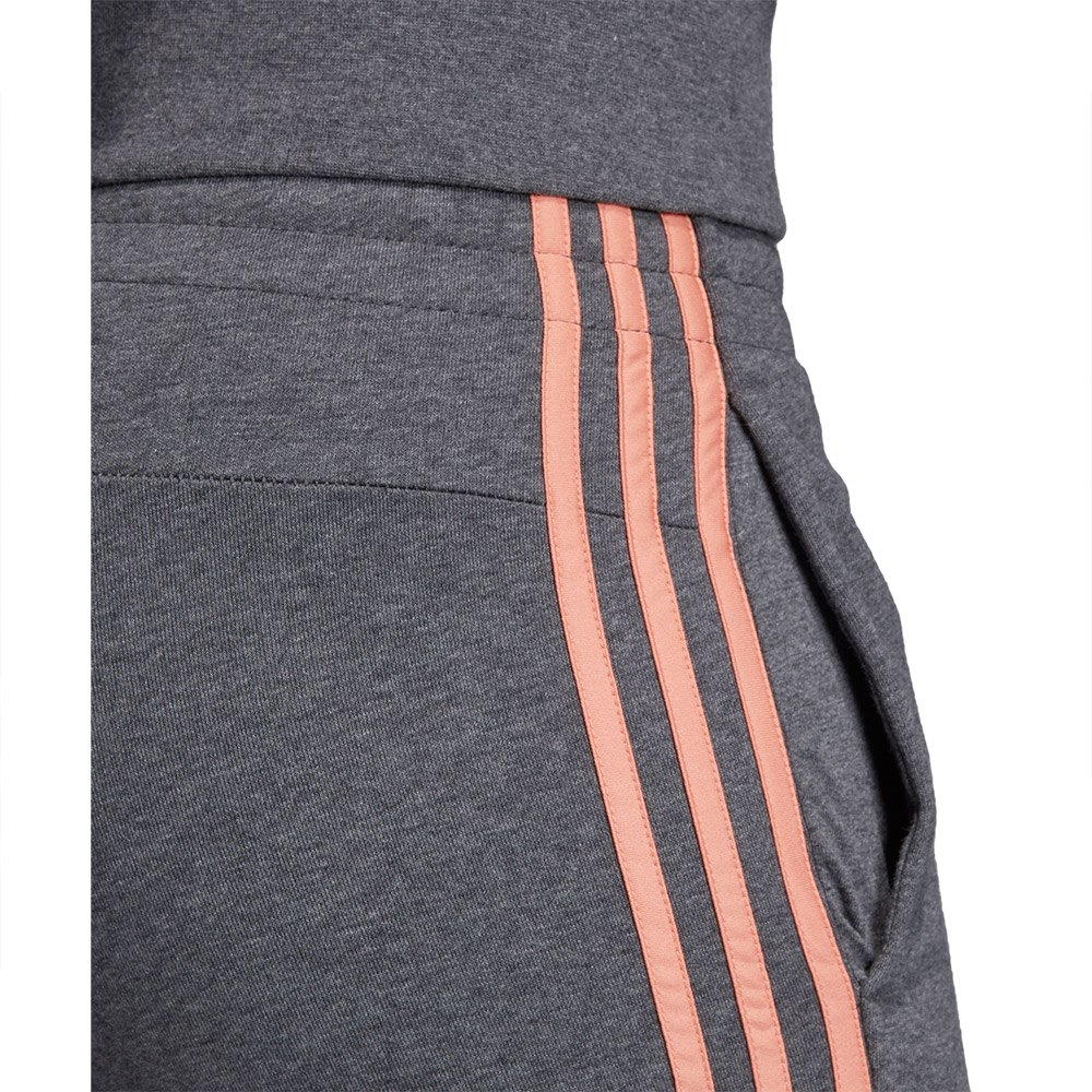 adidas Essentials 3 Stripes Pants Regular Grey, Runnerinn