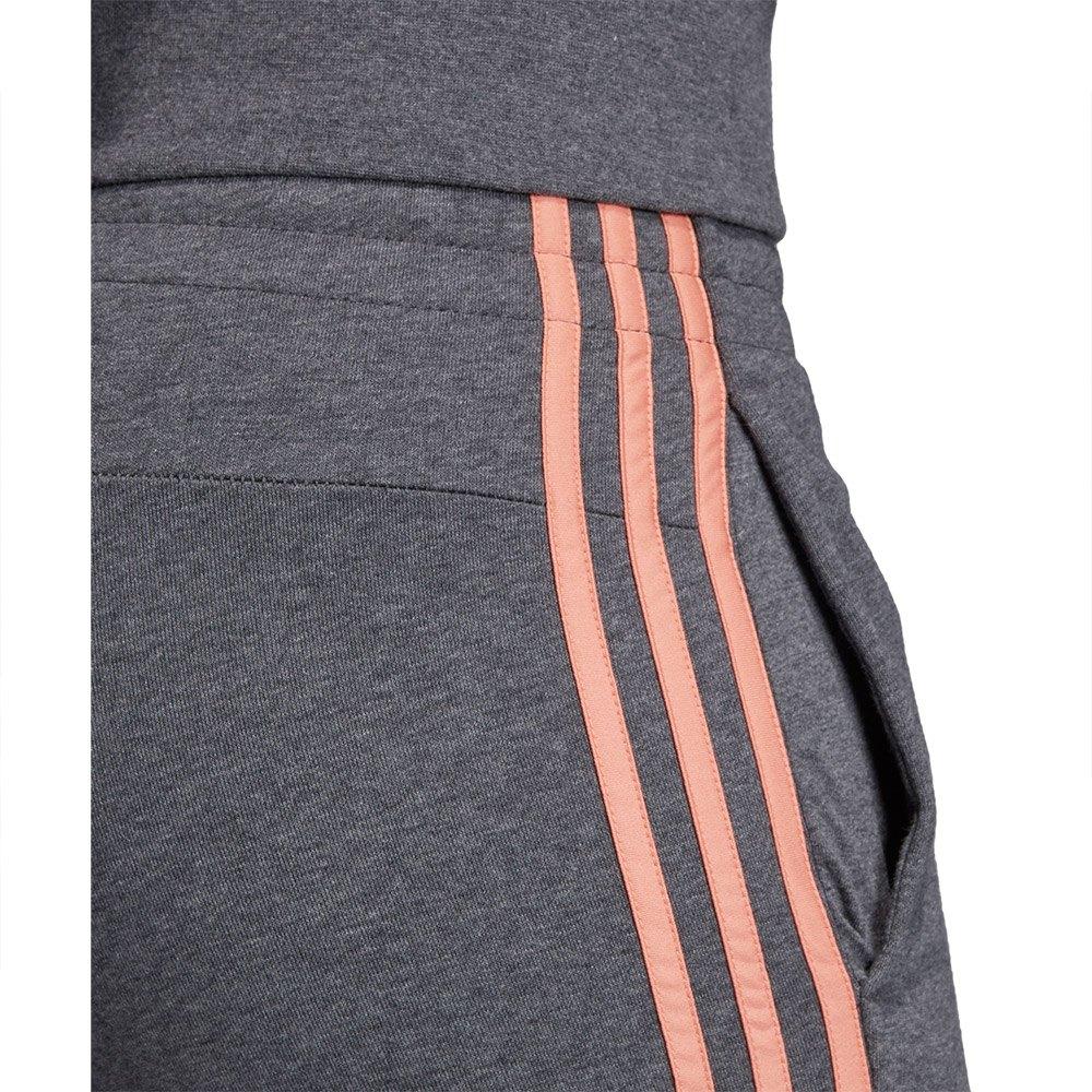 adidas Essentials 3 Stripes Pants Regular Grey, Runnerinn