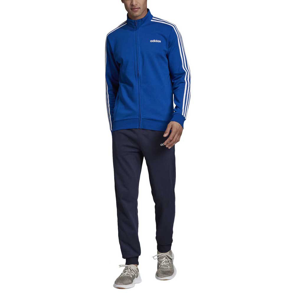 adidas Cotton Relax Tracksuit Regular Blue, Runnerinn