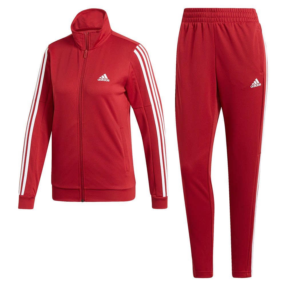 adidas Team Sports Tracksuit Regular Rood, Runnerinn