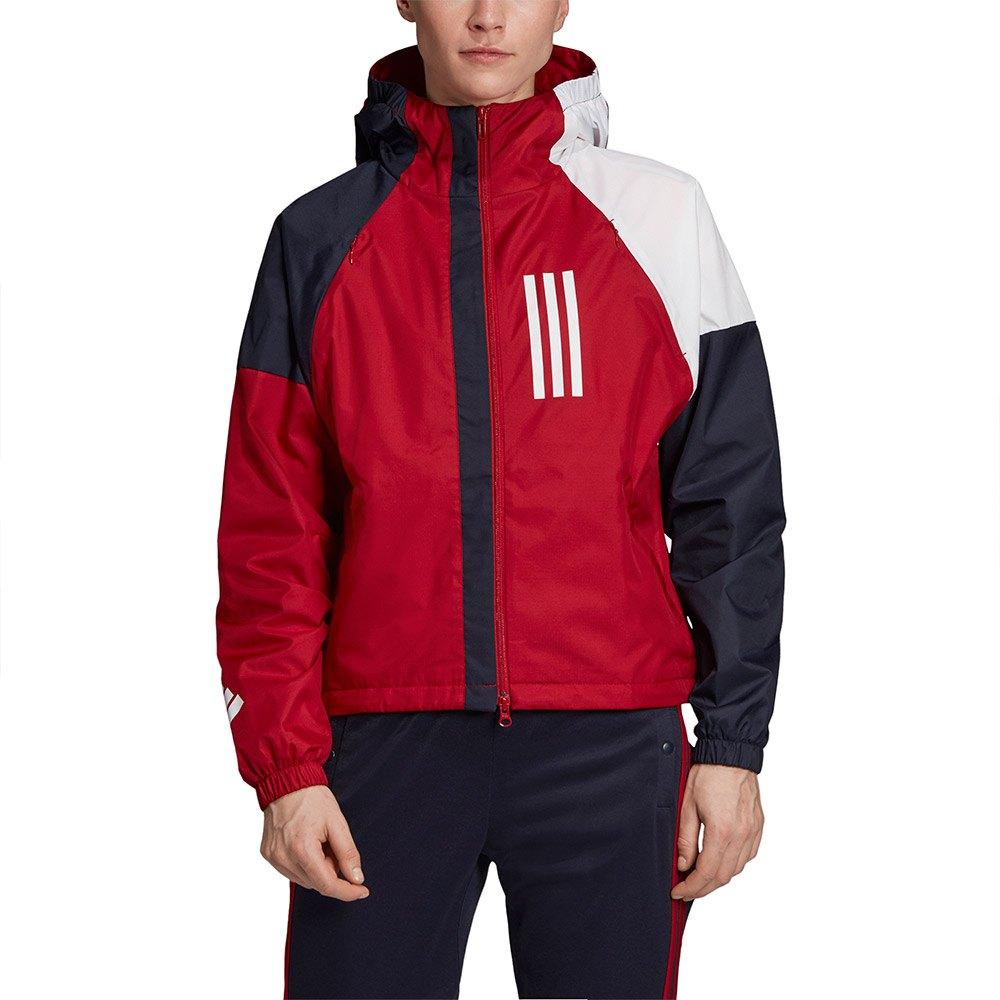 adidas WND Jacket Regular Monivärinen, Runnerinn Takit