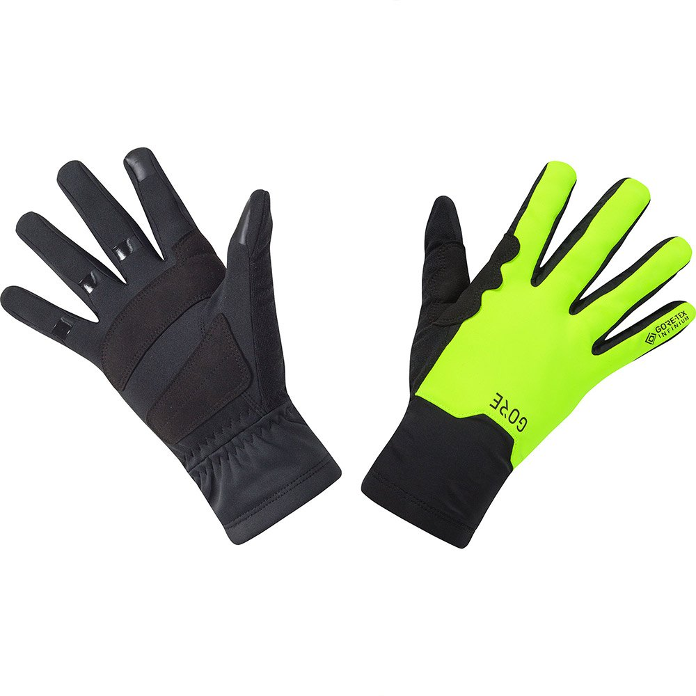 Gants Gore--wear M Goretex Infinium Mid XL Black / Neon Yellow