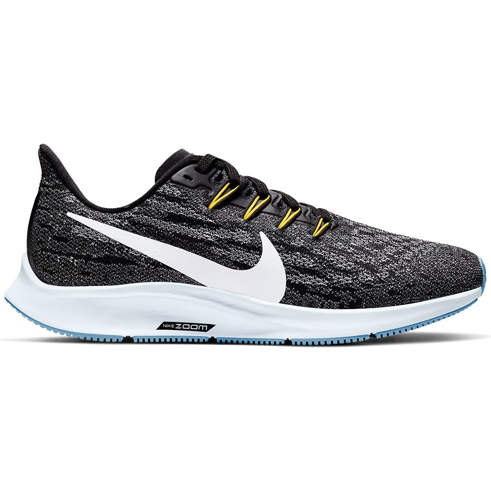 Nike Air Zoom Pegasus 36 EU 36 1/2 Black / White / Half Blue / Light Blue