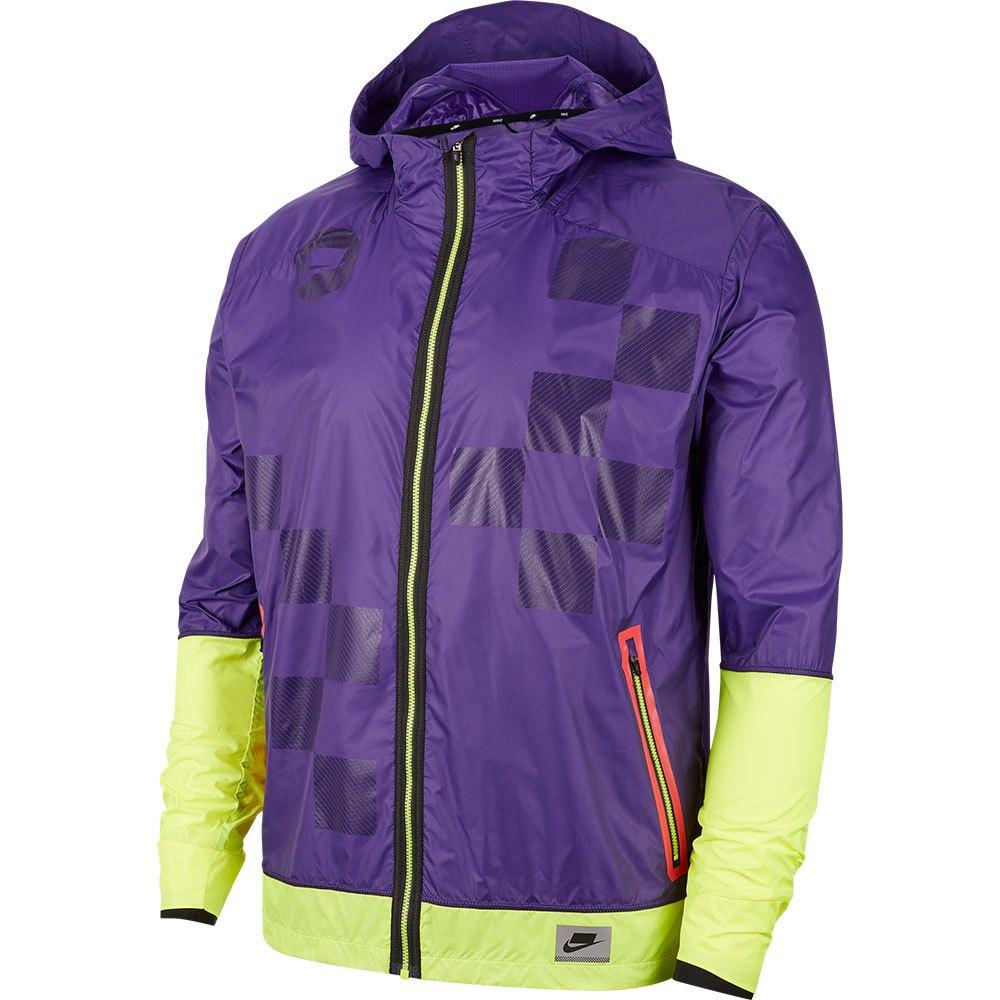Jaqueta Nike Sportswear Windrunner Roxo