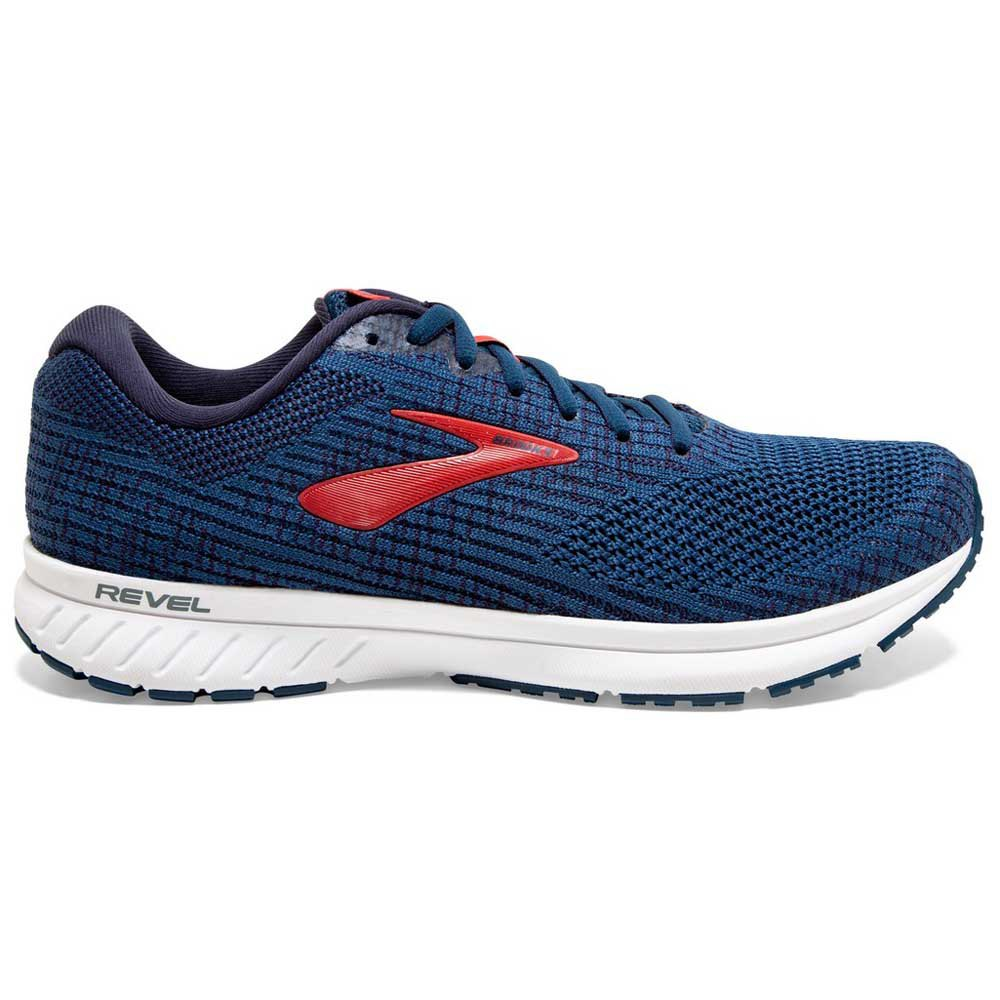 Zapatillas running Brooks Revel 3 EU 40 1/2 Poseidon / Navy / Red