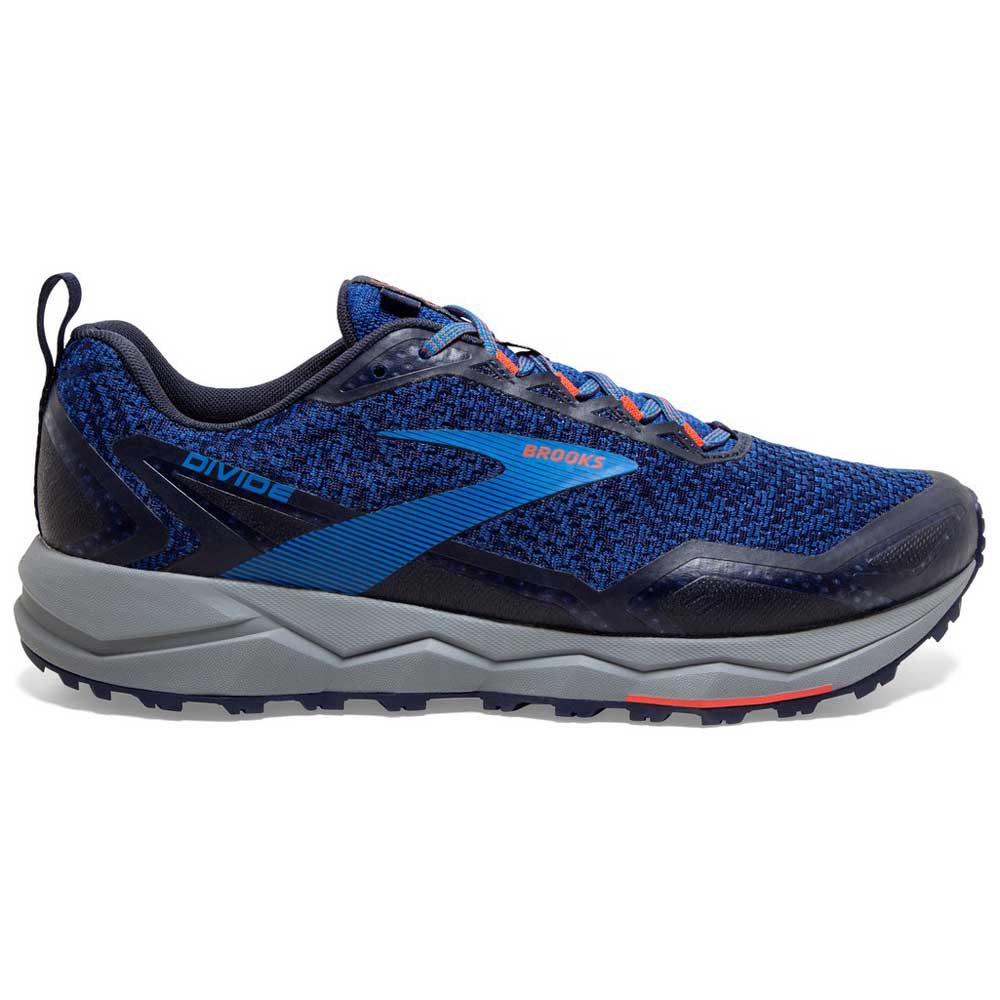 Brooks Divide EU 40 1/2 Blue / Navy / Cherry Tomato