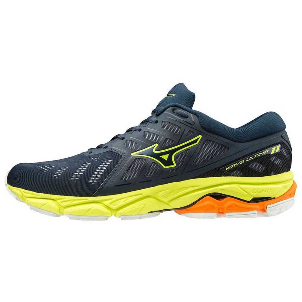Mizuno Wave Ultima 11 EU 40 Dress Blues / Dress Blues / Safety Yellow