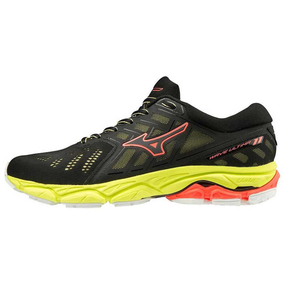 Mizuno Wave Ultima 11 EU 36 Black / Black / Fiery Coral