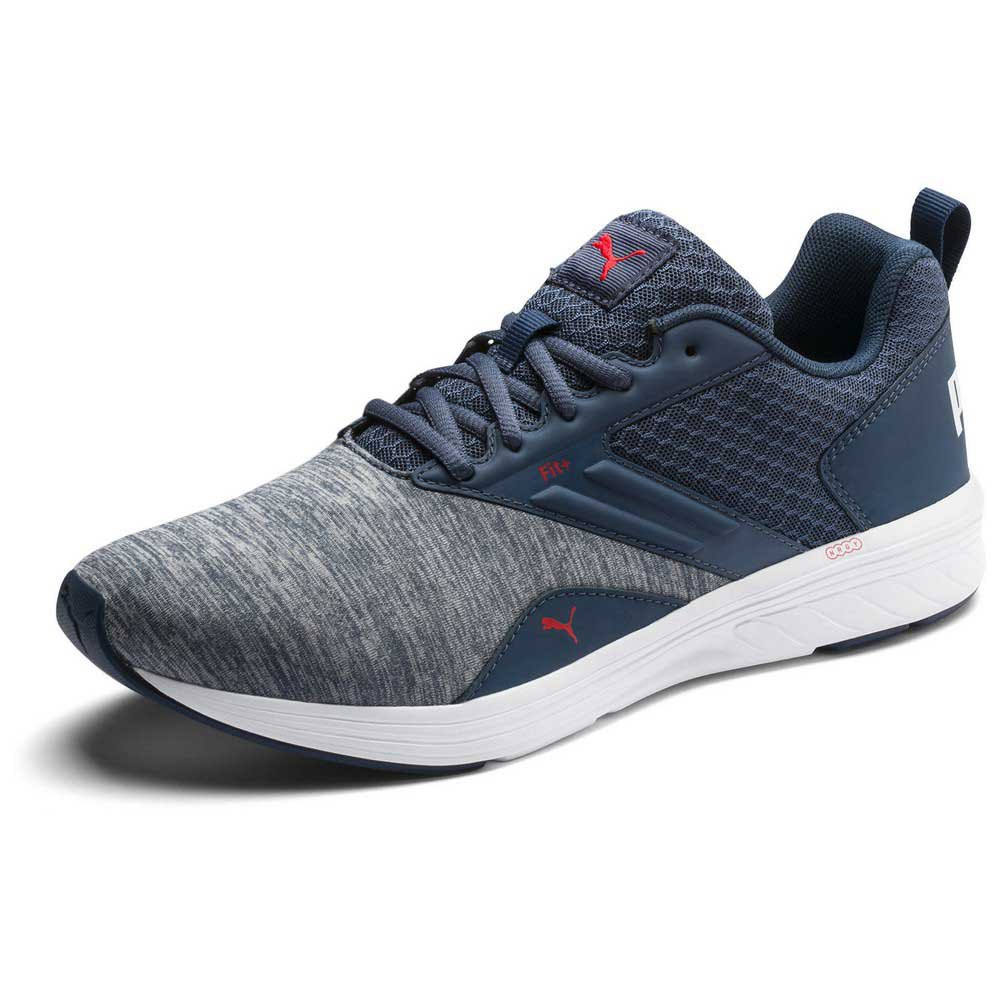 Puma NRGY Comet Running Shoes Blue buy and offers on Thesommelierchef