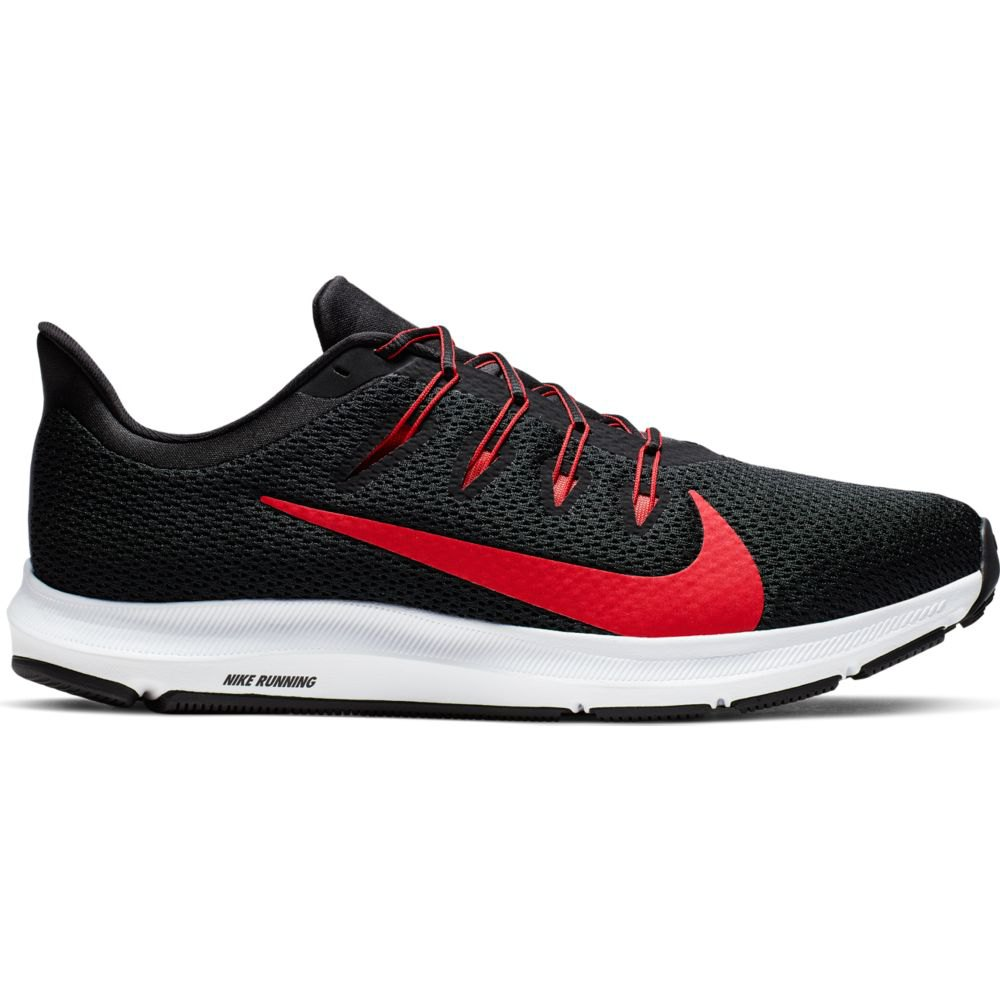 Scarpe running Nike Quest 2 EU 44 1/2 Black / University Red / White