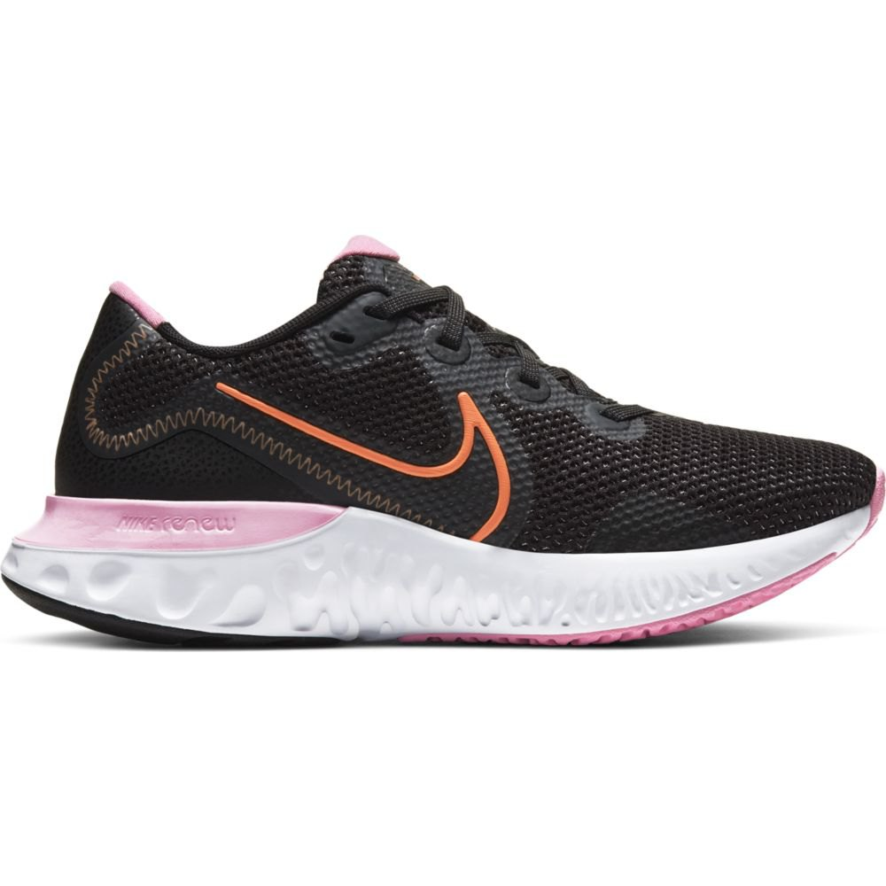 Nike Renew Run EU 42 Black / Orange Pulse / White / Pink