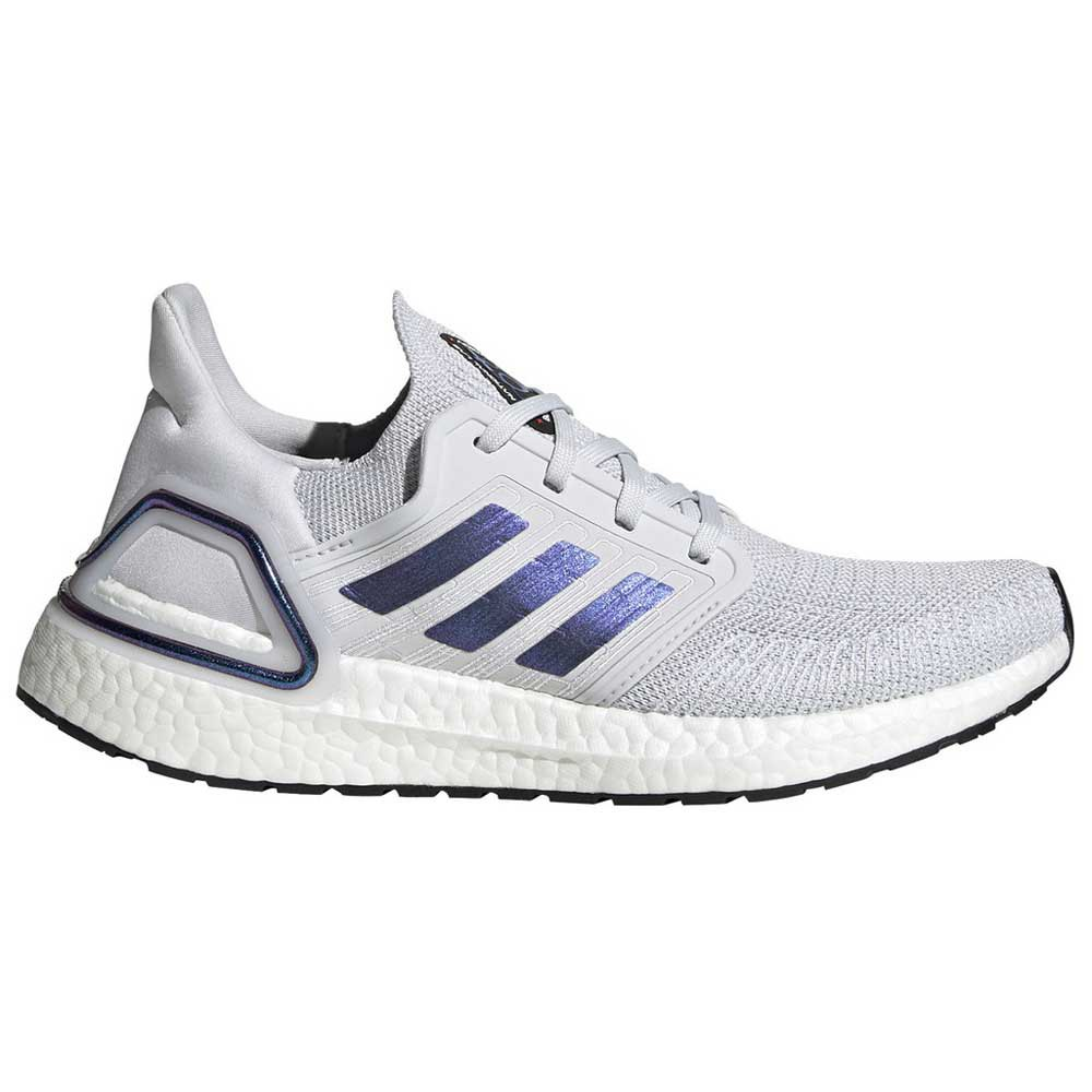 Adidas Ultraboost 20 EU 37 1/3 Dash Grey / Boost Blue Violet Metal / Core Black