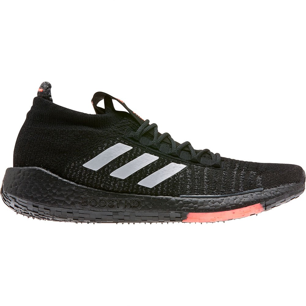 Adidas Pulseboost Hd EU 45 1/3 Core Black / Grey Three / Signal Coral
