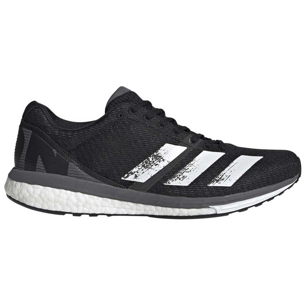 Adidas Adizero Boston 8 EU 44 2/3 Core Black / Footwear White / Grey Five