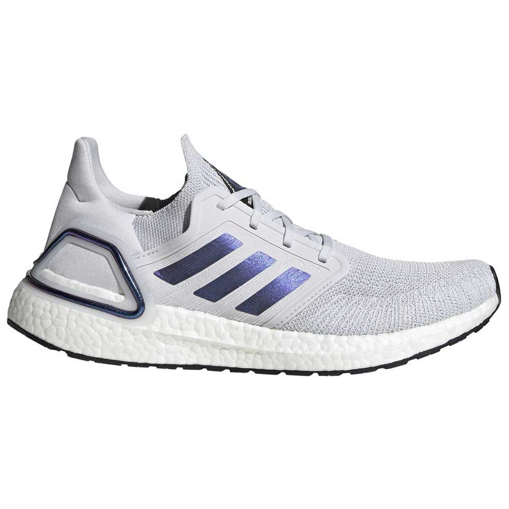 Adidas Ultraboost 20 EU 44 Dash Grey / Boost Blue Violet Metal / Core Black