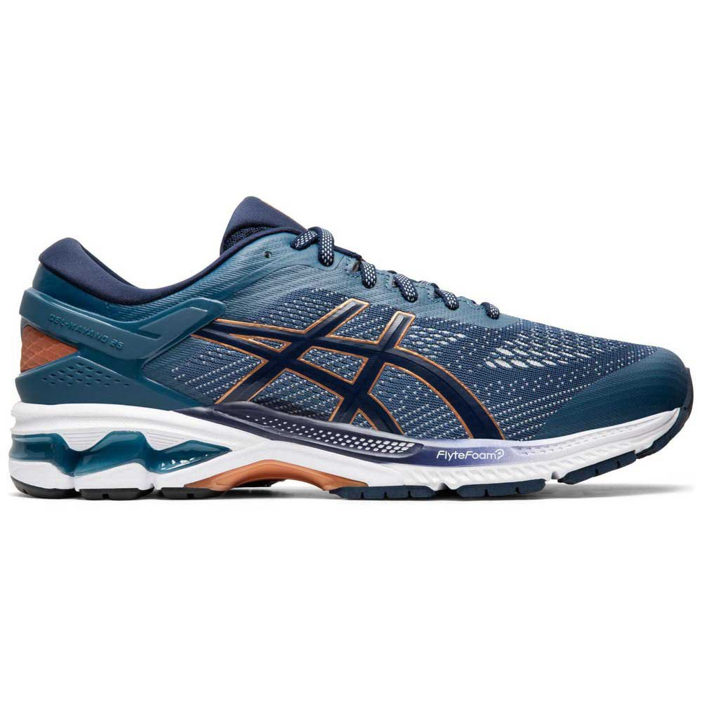 Zapatillas running Asics Gel Kayano 26 EU 44 Grand Shark / Peacoat