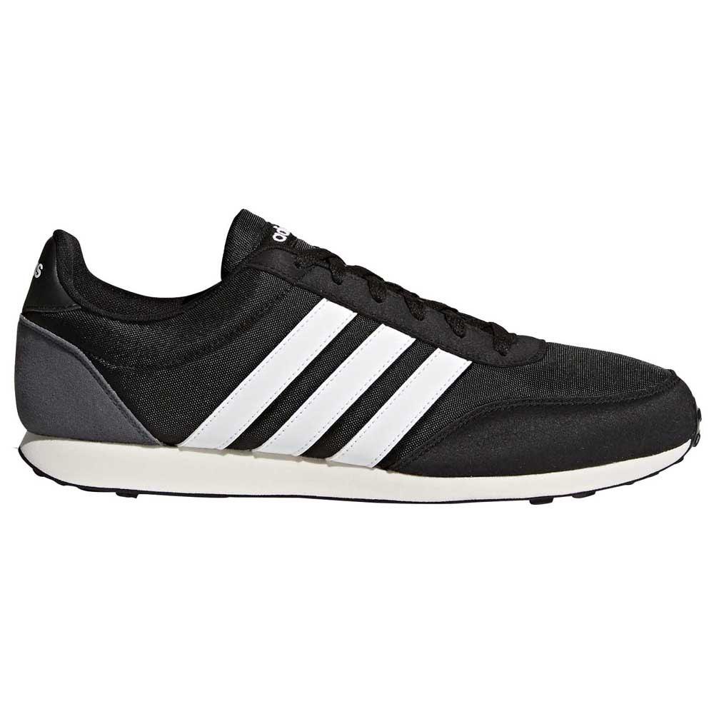adidas V Racer 2.0 Running Shoes Black, Runnerinn