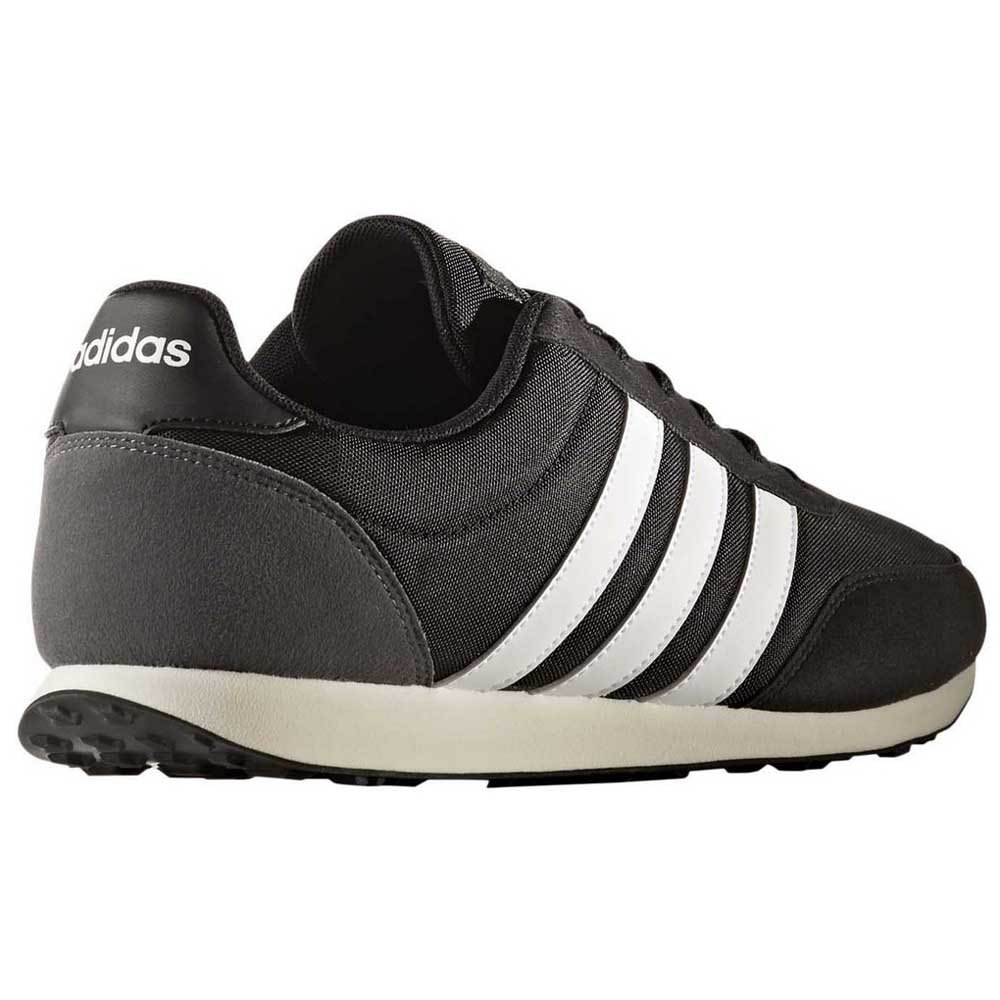 salami Ver a través de surco  adidas V Racer 2.0 Black buy and offers on Runnerinn