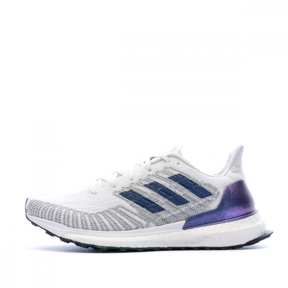 Adidas Solar Boost St EU 43 1/3 Footwear White / Tech Indigo / Solar Red