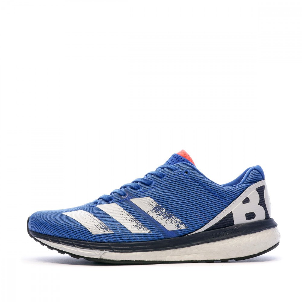 Adidas Adizero Boston 8 EU 45 1/3 Glory Blue / Core White / Trace Blue