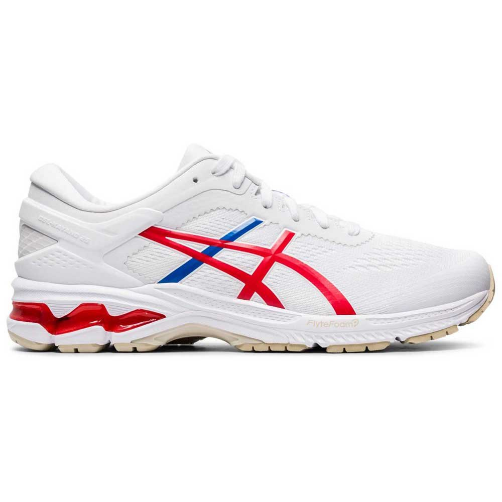Zapatillas running Asics Gel Kayano 26 EU 44 White / Classic Red