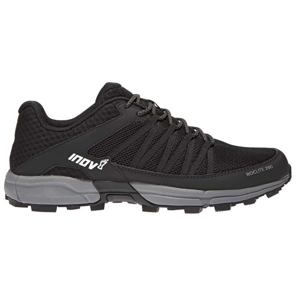 Zapatillas trail running Inov8 Roclite 280 EU 44 Black / Grey