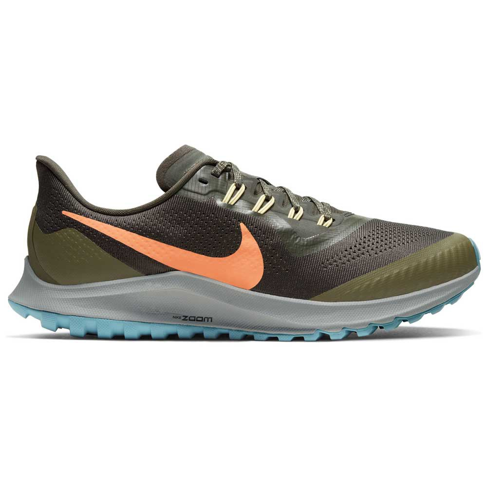 Nike Air Zoom Pegasus 36 Trail EU 43 Sequoia / Orange Trance / Medium Olive