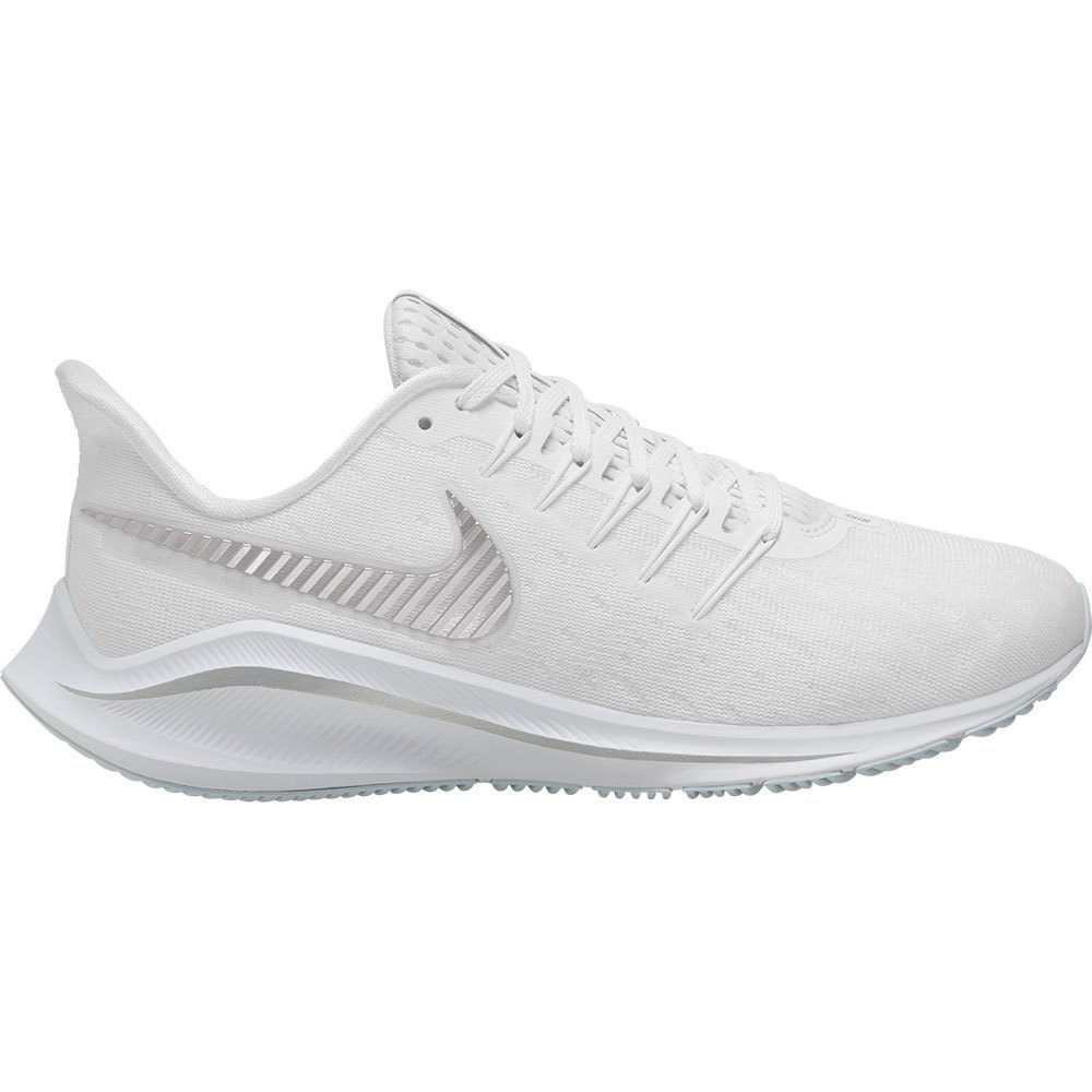 Nike Air Zoom Vomero 14 EU 41 White / Metallic Silver / Aura
