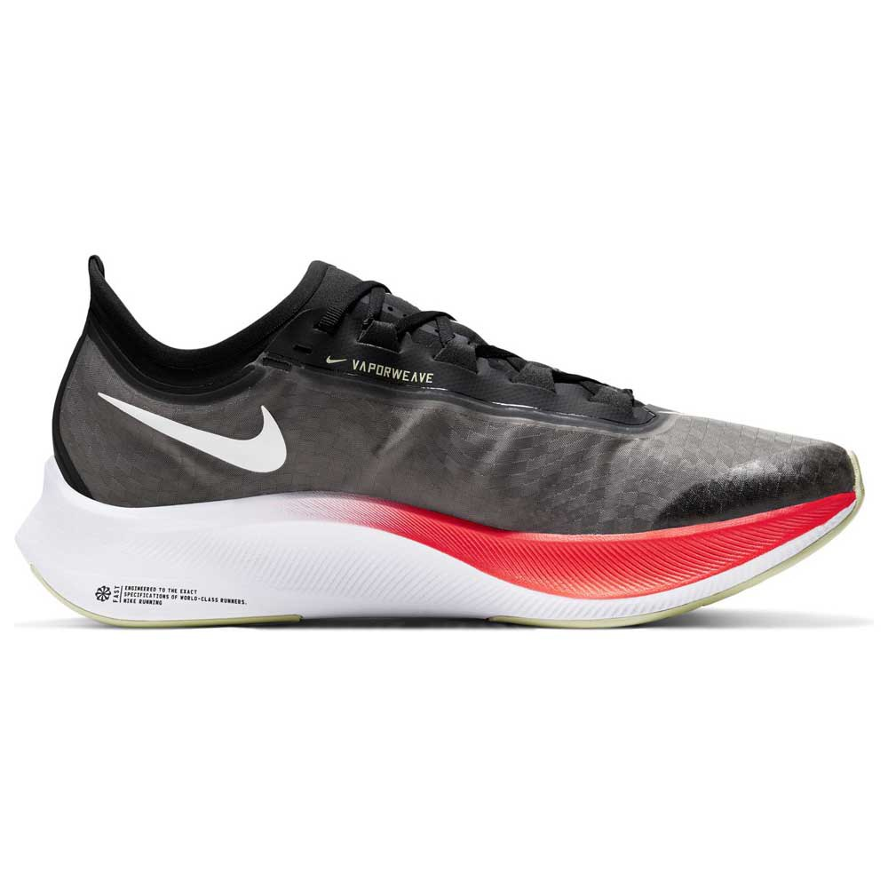 Nike Zoom Fly 3 EU 40 Black / White / Laser Crimson / Olive Aura