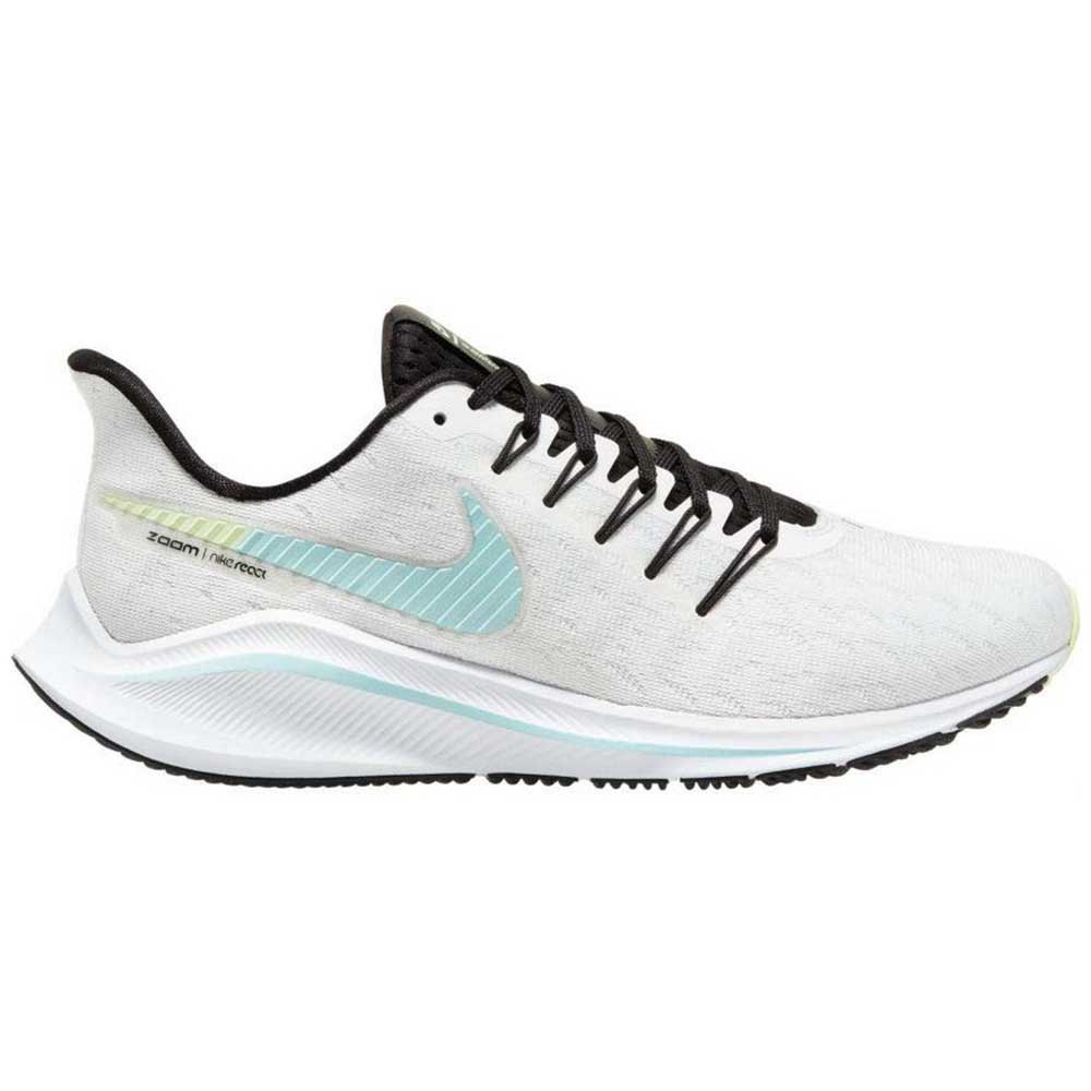 Nike Chaussures Running Air Zoom Vomero 14 Blanc, Runnerinn
