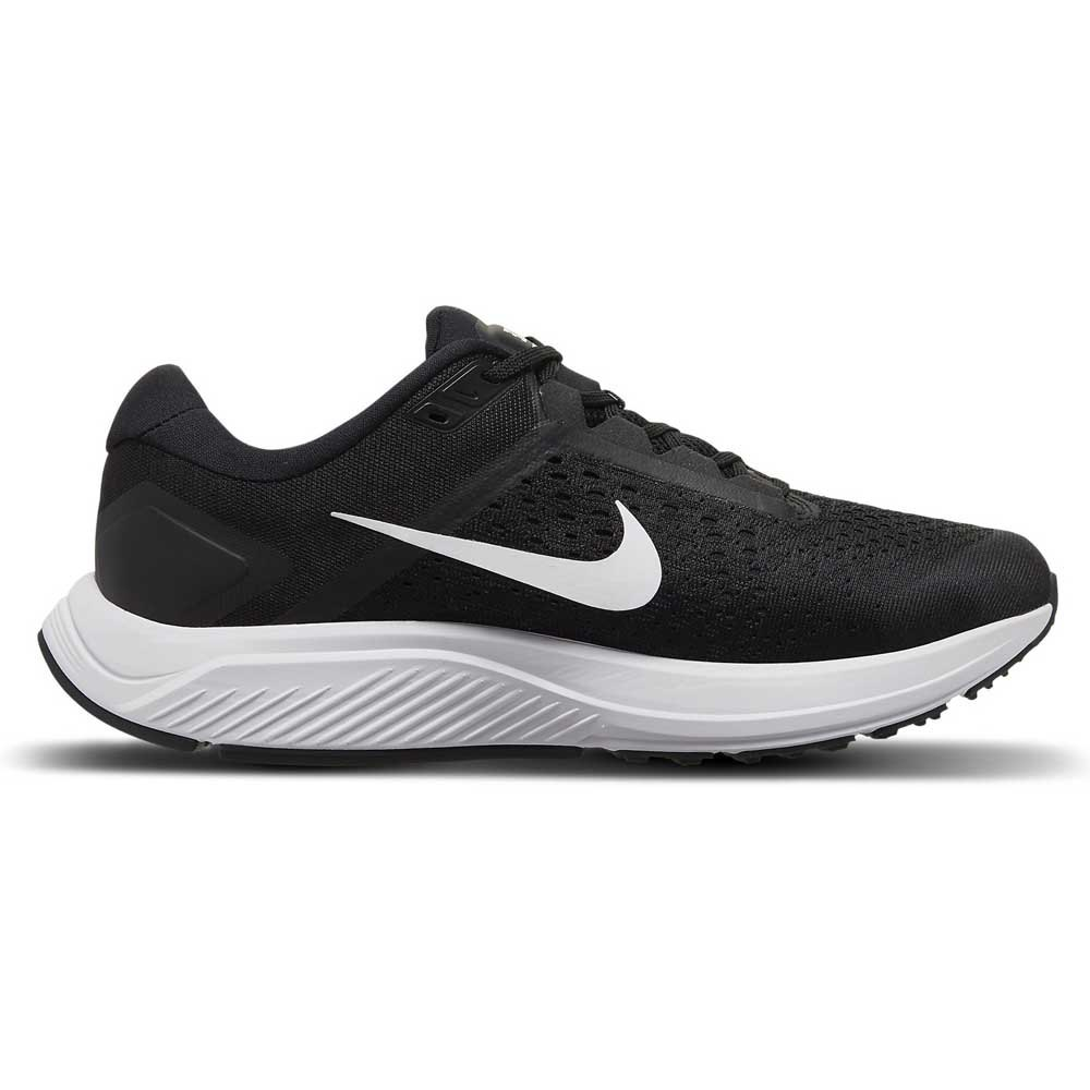 Nike Chaussures Running Air Zoom Structure 23 Noir, Tra-inc