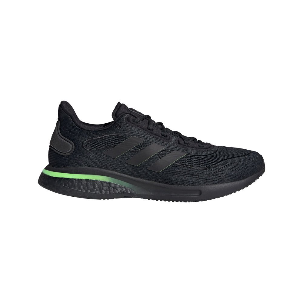 Zapatillas running Adidas Supernova EU 42 Core Black / Signal Green