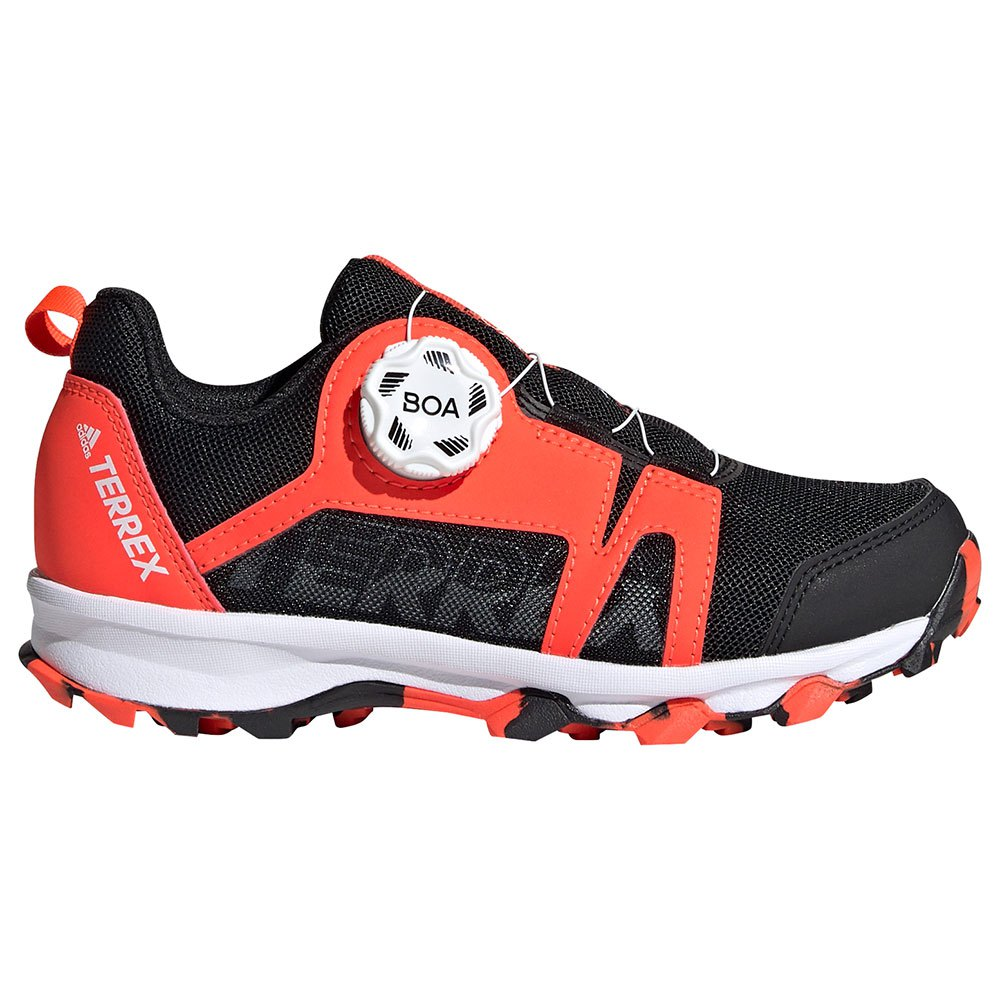 adidas Boys Terrex Agravic BOA Walking Shoes Red Sports Outdoors Breathable