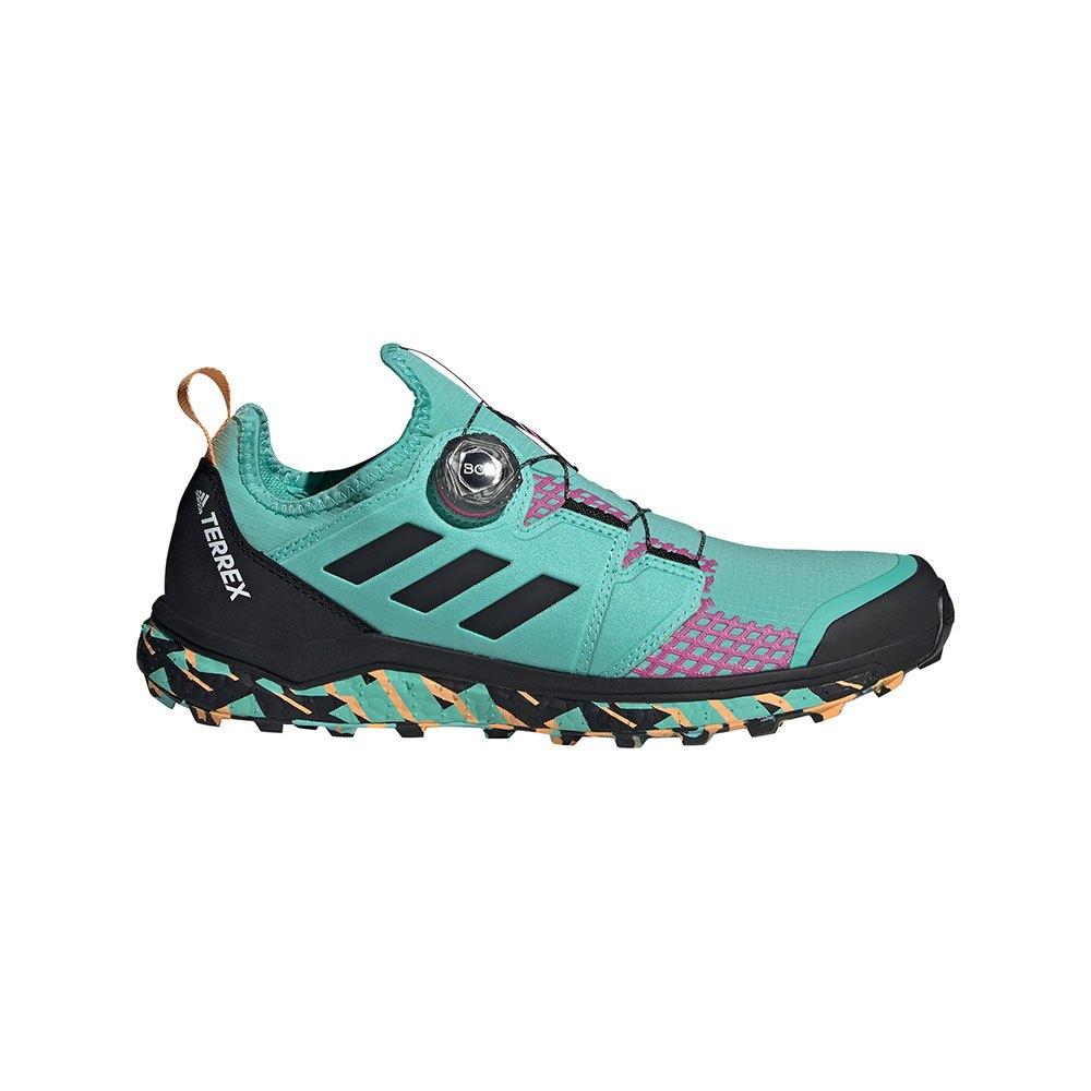 adidas Chaussures Trail Running Terrex Agravic BOA Vert, Tra-inc