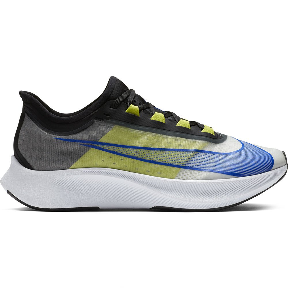 Nike Zoom Fly 3 Running Shoes Grey buy and offers on Runnerinn