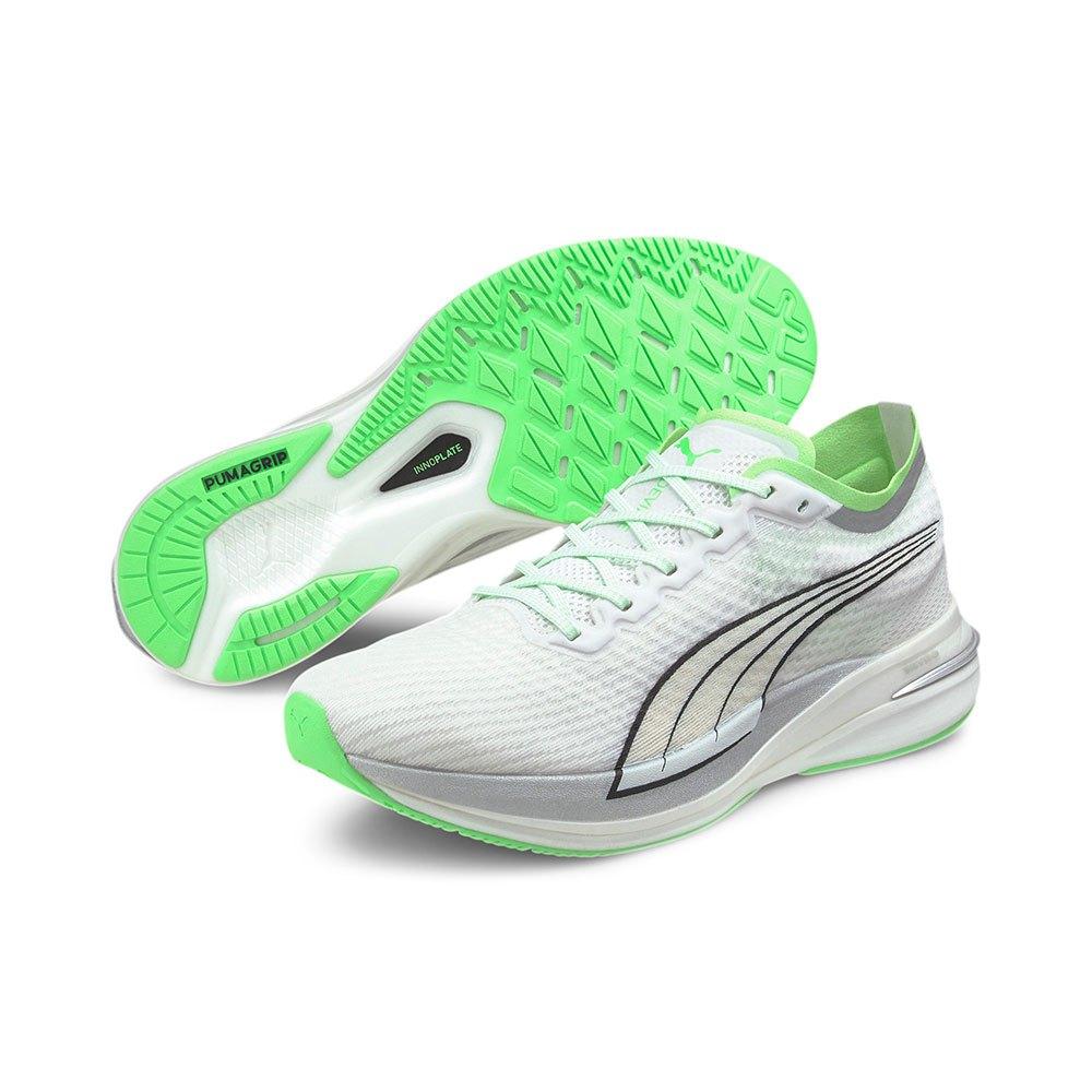 Puma Deviate Nitro CoolAdapt Running Shoes White, Thesommelierchef