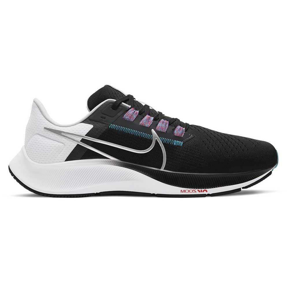Nike Chaussures Running Air Zoom Pegasus 38 Noir, Thesommelierchef