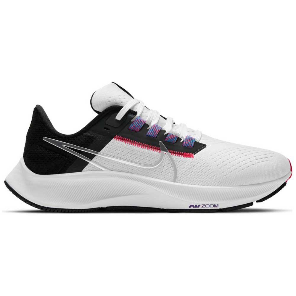 Nike Chaussures Running Air Zoom Pegasus 38 Blanc, Thesommelierchef