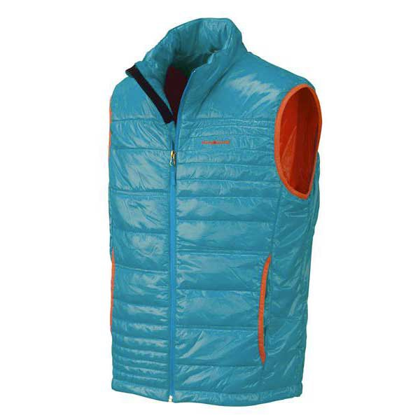 Trangoworld Gamos Vest Turkey Blue/spicy Orange