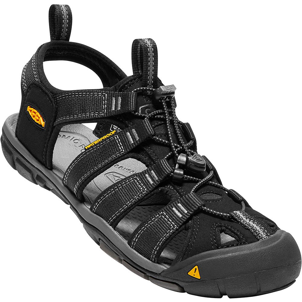 3c2b95a2041d Keen Clearwater CNX Black buy and offers on Runnerinn