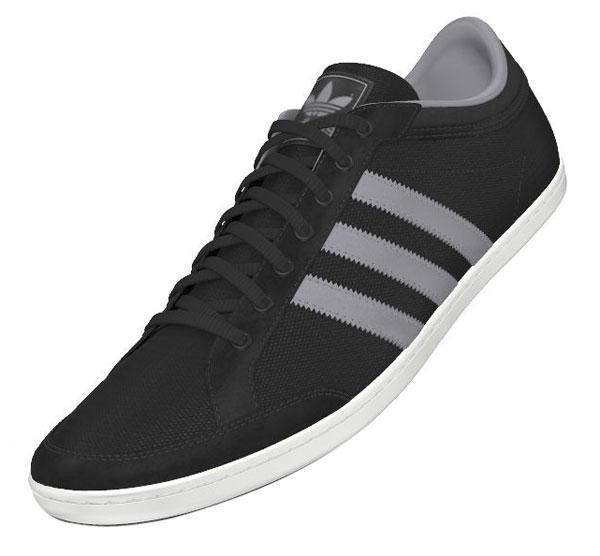 adidas originali plimcana basso black / metà grey, runnerinn