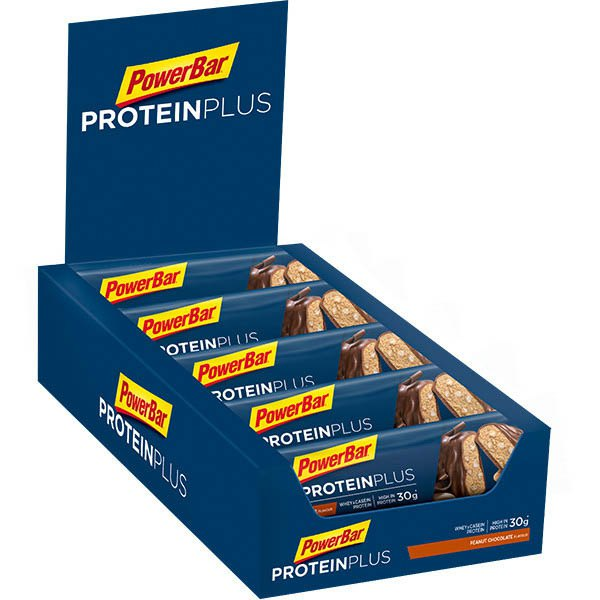 Powerbar Protein Plus 33 90gr 10 Units Peanut&Chocolate