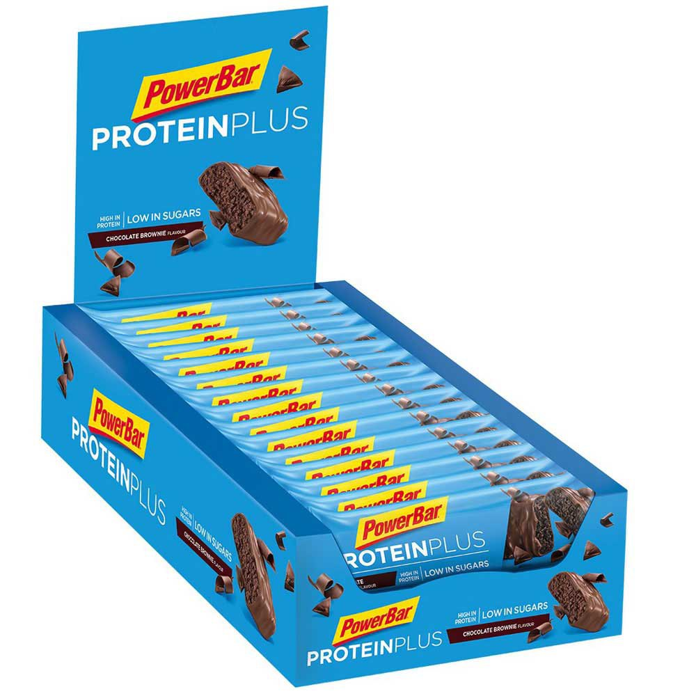 Powerbar Proteinplus Low Sugar 35 gr Choco 30 Units