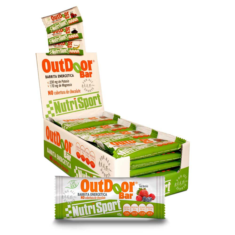 Nutrisport Outdoor 20 Units Red Berries
