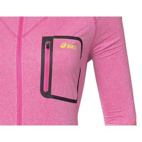 asics hoodie Pink
