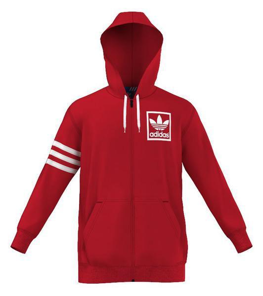 adidas originals 3foil Hooded Fz Hoody, Runnerinn