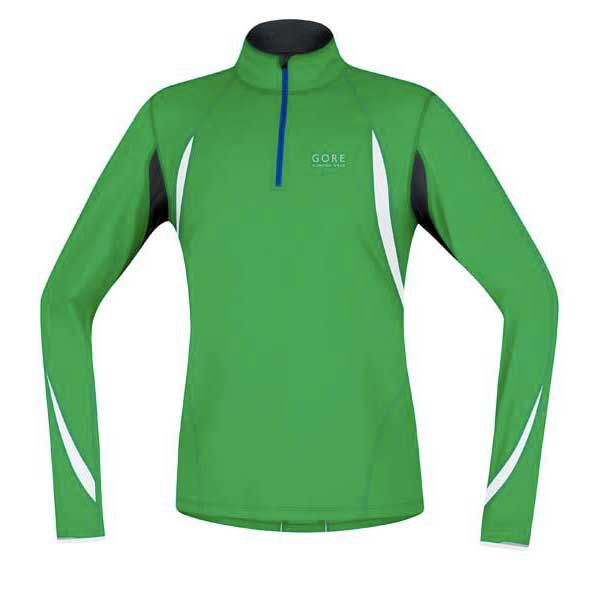 Gore running T Shirts Air Zip Long