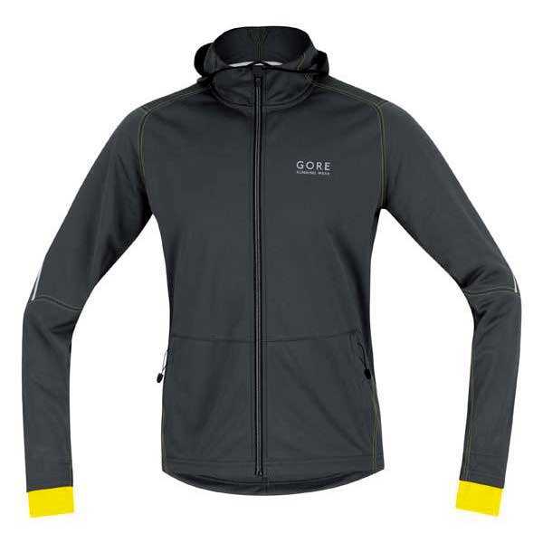 Gore running T Shirts Hoody Essential Windstopper Soft Shell