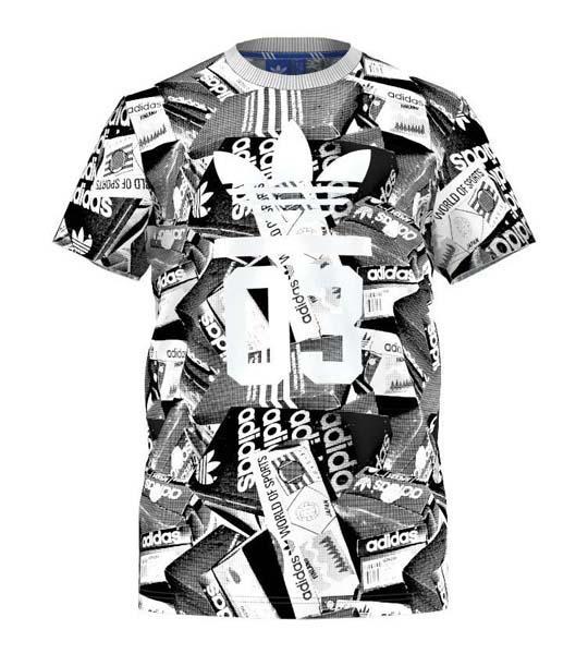 camiseta adidas originals hombre