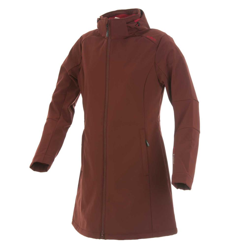Cmp Softshell Coat Zip Hood